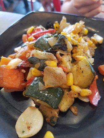 Altamonte Springs, FL: Vegetable plate
