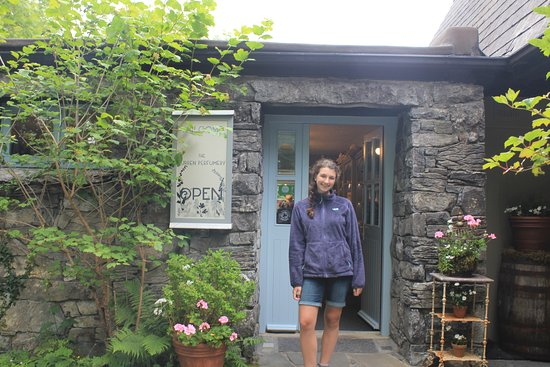 Carron, Ierland: The Burren Perfumery. It's sweet and simple!