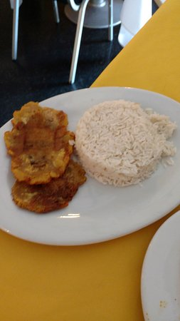 Ephrata, PA: plantain and rice side