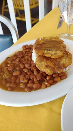 Ephrata, PA: plantain, beans and rice sides