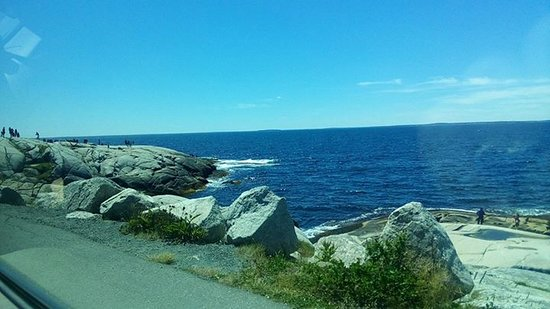 Coast at Peggy's cove