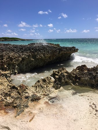 Governor's Harbour, Eleuthera: Most beautiful beach I have ever walked on.  Clear turquoise green water.  Amazing snorkeling.
