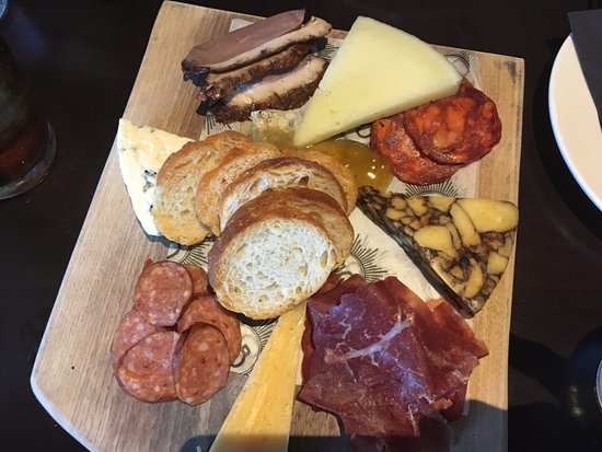Utica, NY: Small Meat & Cheese Plate - My favorite