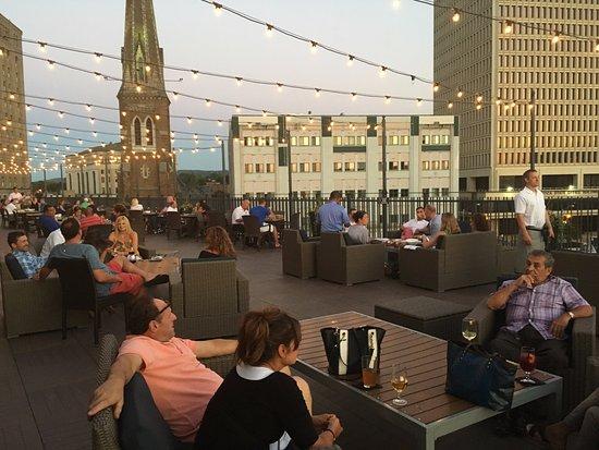 Utica, NY: Outdoor Deck