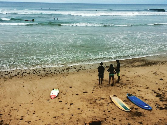 Hostel Los Tres Hermanos: Surf Playa Maderas