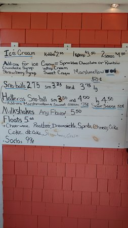 Frisco, NC: price list