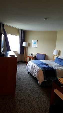 New Westminster, Canada: Comfy room with view