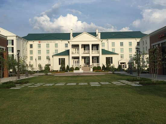 Hilton Garden Inn Nashville Bwood This Is Actually The Back Of Hotel With