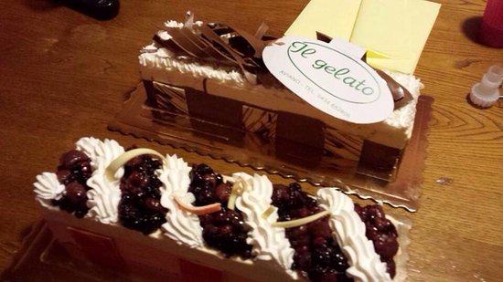Aviano, Italia: Torta gelato
