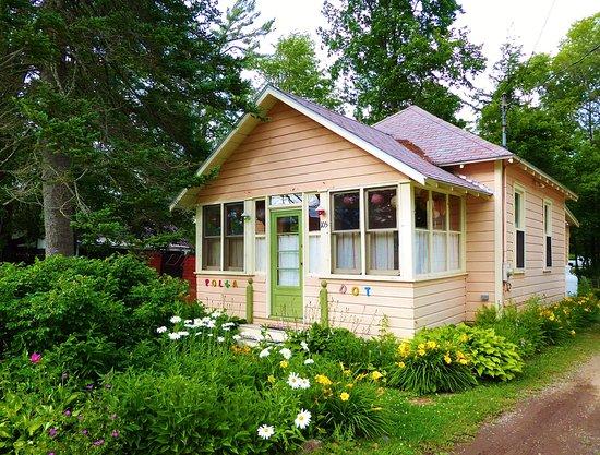 Caroga Lake, Estado de Nueva York: The Polka Dot Cottage