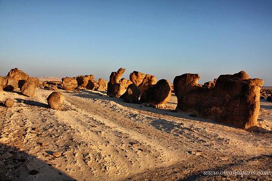 Al Wusta Governorate, Oman: Rocks Garden alwusta , oman