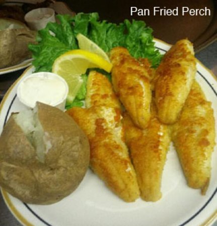 Jacksonport, WI: Pan Fried Perch - Friday