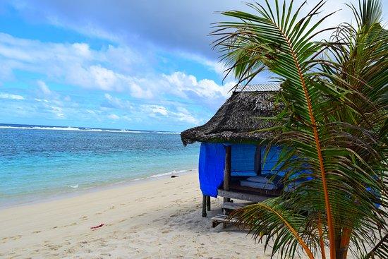 Lalomanu Beach: Absolute beach front accommodation