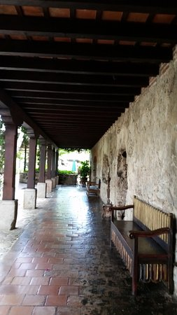 Casa Santo Domingo: One of main corridors