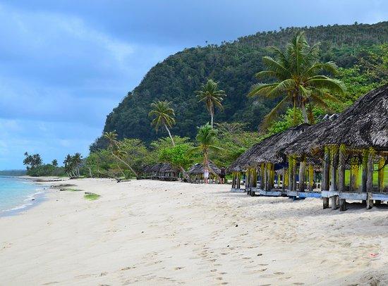 Lalomanu Beach: Beach Fales