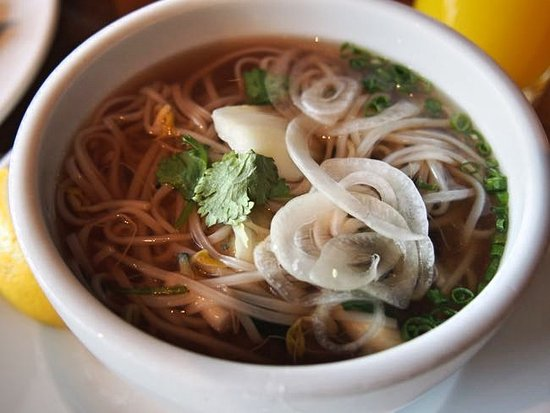 The Shilla Seoul: 朝食。目の前で作ってもらえるヌードル。