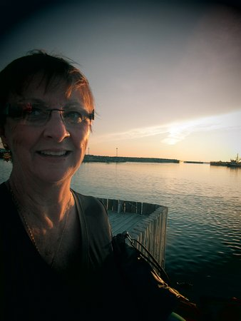Bonavista, Canada: The view from the deck