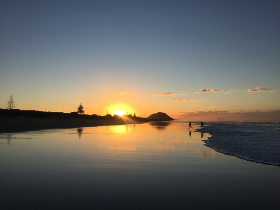 Pacific Coast Lodge and Backpackers: Best beach in New Zealand!
