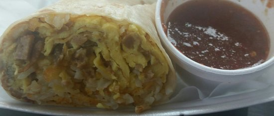 Hawaiian Gardens, CA: Breakfast burrito