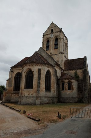 Auvers-sur-Oise, ฝรั่งเศส: 오베르 쉬르 우아즈 성당