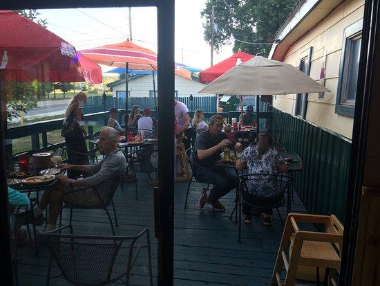 Dolores, CO: Nice patio !!!