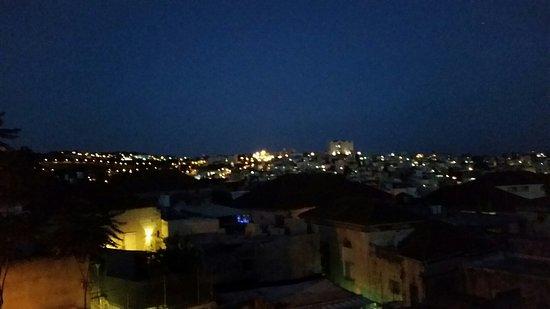 The Fauzi Azar Inn: The view from the kitchen balcony.