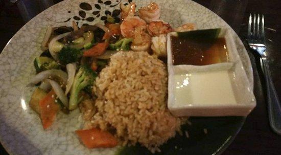 Mattoon, Ιλινόις: Jumbo shrimp hibachi meal