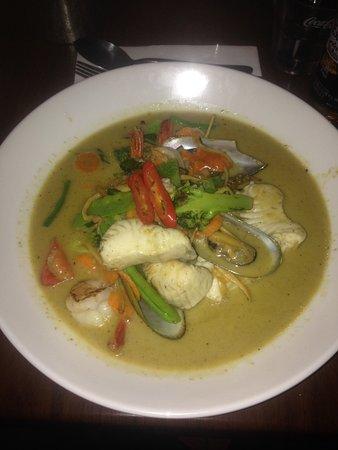 Mackay, Australia: Thai Seafood Jungle Curry