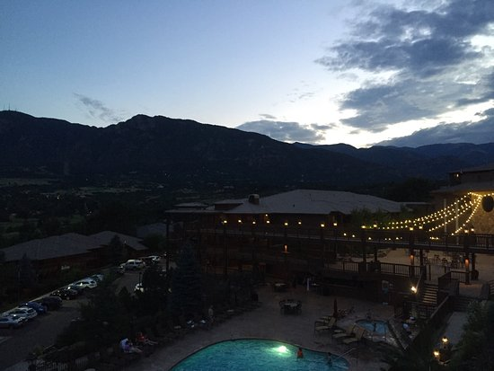 Cheyenne Mountain Resort: Amazing views! The whole resort is beautiful