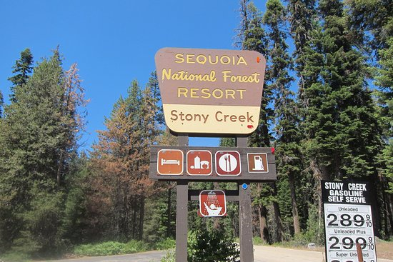 Stony Creek Lodge: Sign