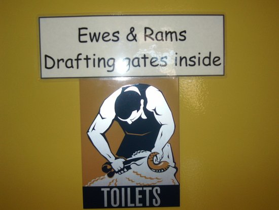 Hay, Australia: toilets