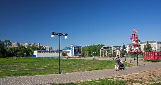 Zelenodolsk, Russia: территория бывшего стадиона