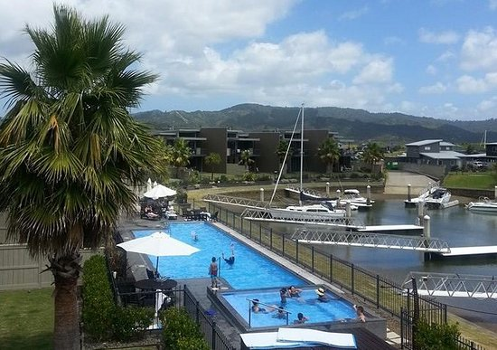 Sovereign Pier on the waterways: Spa pool and Lap pool