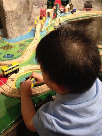 Everett, WA: Children's Museum Train!