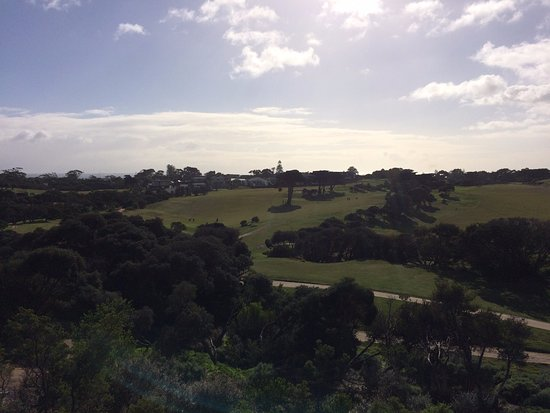 Portsea, Australia: View from balcony