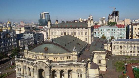Mini-hotel Kiev downtown : Вид со стороны Владимирской ул.