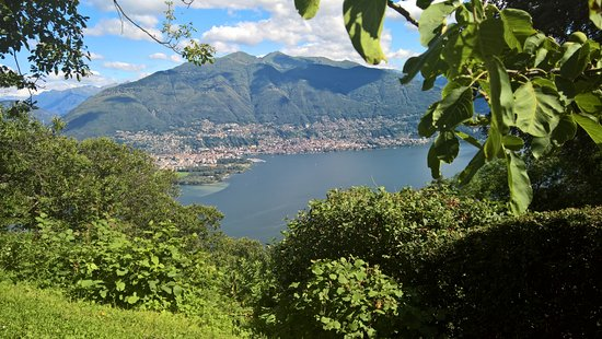 San Nazzaro, Suiza: Sass da Grüm direzione Locarno