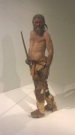 Südtiroler Archäologiemuseum : otzi