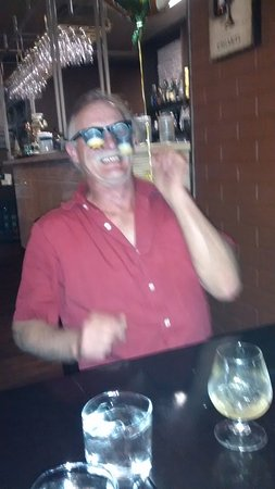 Salmon Arm, Canada: my friend Noel's birthday! We had so much fun, great food asilly glasses and all!