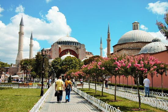 Basileus Hotel: Aysophia Museum just seven minutes distance away from the hotel.