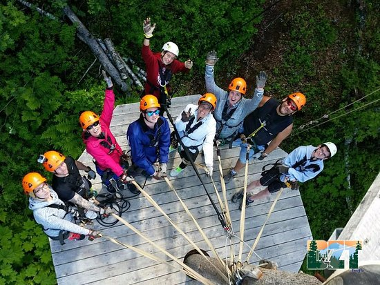 Talkeetna, AK : Group from above