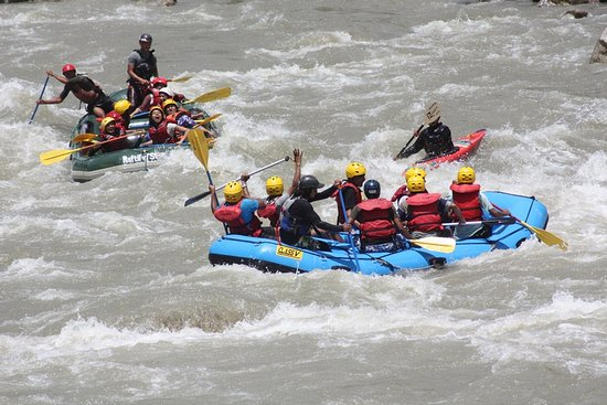 Kathmandu Valley, Nepal: White water rafting