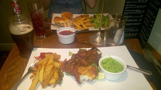 Hardstoft, UK: Shocking Meal