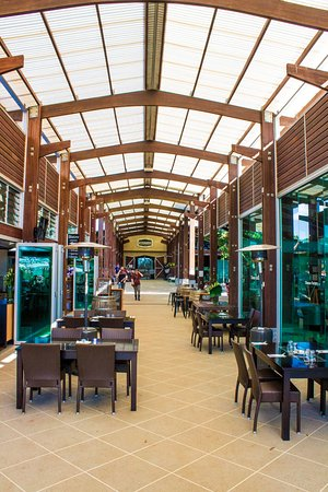 Eagle Heights, Australia: The Atrium