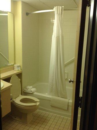 Days Inn Coeur d'Alene: Shower