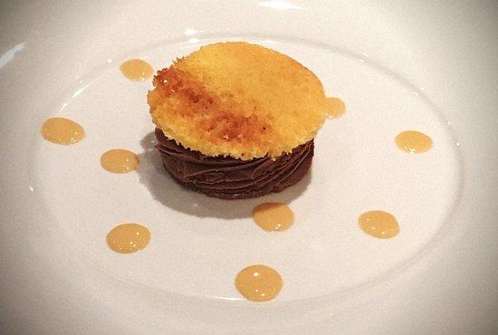 Arcueil, Frankrig: Tarte au Chocolat destructurée