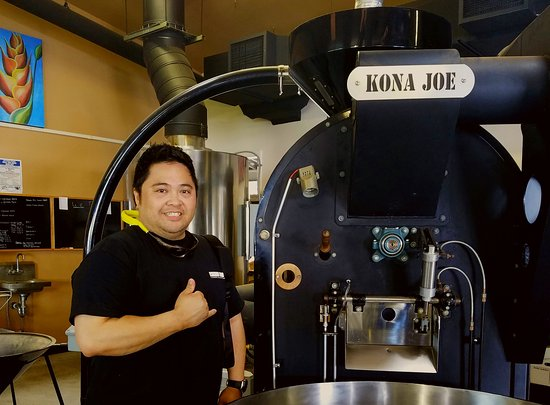 ‪‪Kealakekua‬, هاواي: Roaster during the tour‬