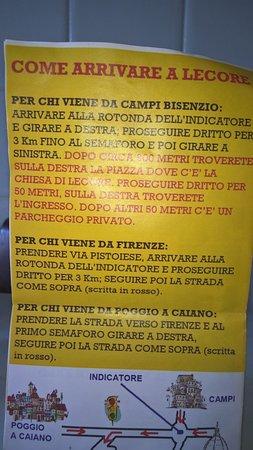 Signa, Italie : cartina per arrivarci