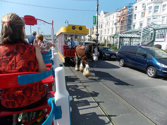 Isle of Man Bus and Rail: .....and on the Horse Trams , (unmissable!)