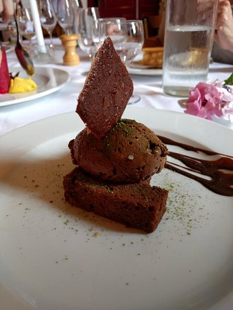 Fondremand, France : Moelleux chocolat, gourmand